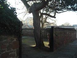 Sand_stone_walls_and_a_fine_Scots_Pine_Barton_Road